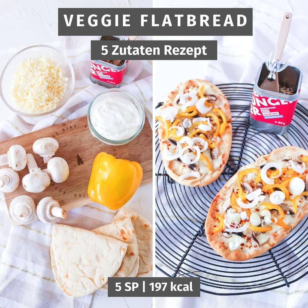 Veggie Flatbread Heute Habe Ich Ein Leckeres 5 Zutaten Rezept Fur Euch Wisst Ihr Wo Ich Geshoppt Habe In Unserem Kuhlschrank In 2020 Veggie Flatbread Food Veggies