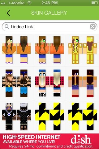 I was testing a skin app for minecraft I searched Lindee link and I - best of blueprint maker minecraft