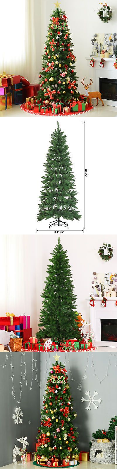 Artificial Christmas Trees 117414 7Ft Pvc Artificial Christmas Tree