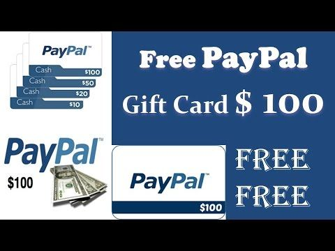 How To Get Free Paypal Gift Card Code in 5 minutes 2017 | Free