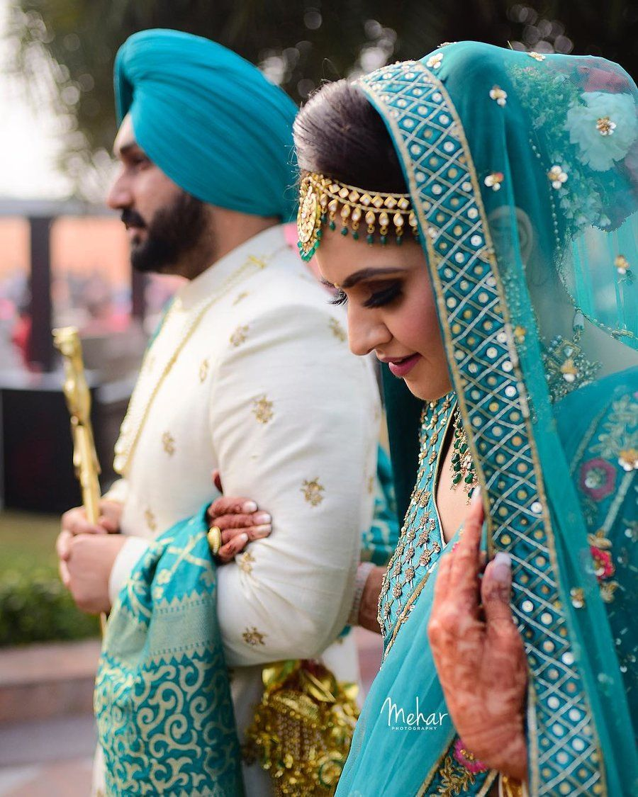 30 Unique Outfit Combinations For Brides Grooms Couple Wedding Dress Indian Wedding Outfits Indian Bridal Outfits