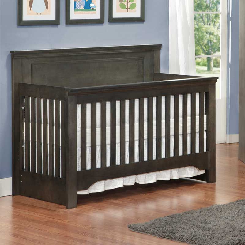 Dream Convertible Crib In Charcoal Jack Jill Baby Furniture Collection By Mother Hubbard Love Custom Made Lots Of Options Canada For 899 99