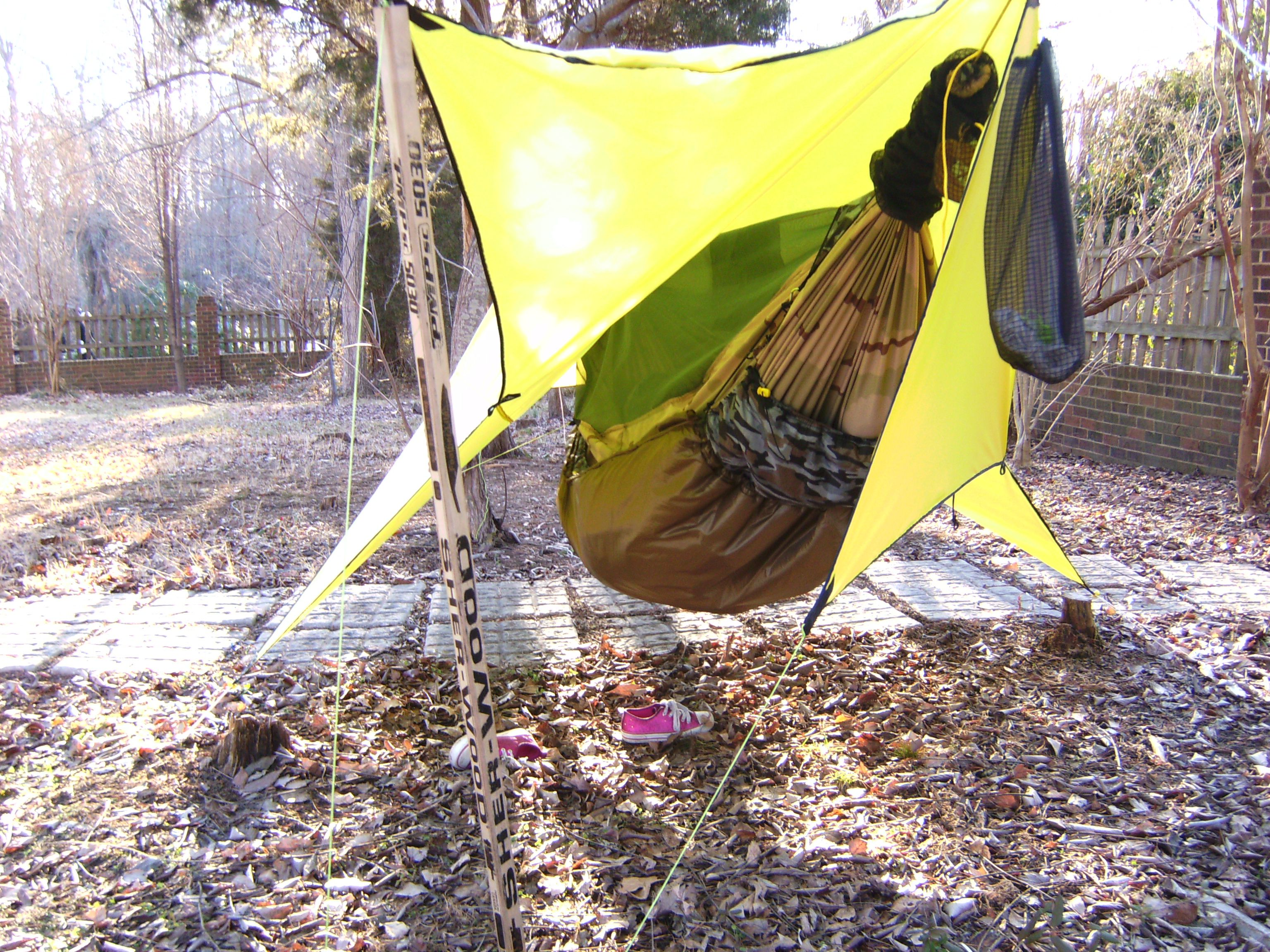 How To Make A Diy Insultex Ix Underquilt For Hammock
