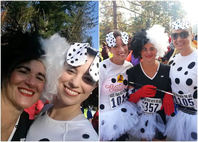 Cruella de Vil and 101 Dalmatian Running Costumes/Tutus