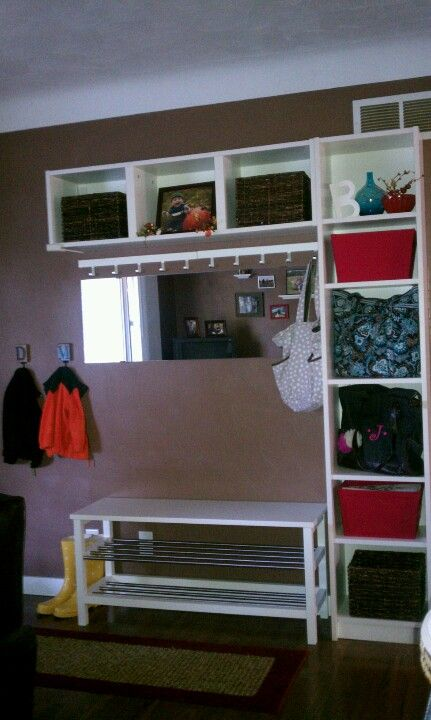 entryway accomplished thanks ikea with images ikea on new garage organization ideas on a budget a little imagination id=76069