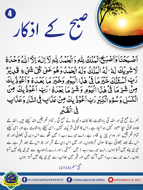 Hadees In Urdu Blog Subha Sham K Azkar Download 2