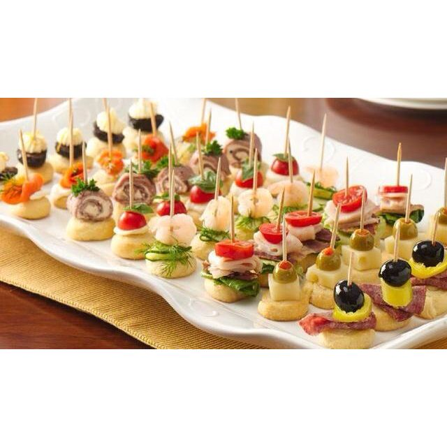 Adult party snacks