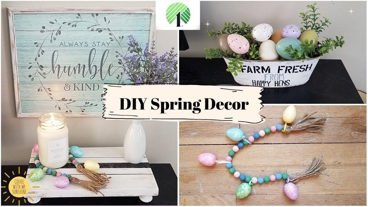 Dollar Tree DIY Spring Home Decor Easter *New 2020