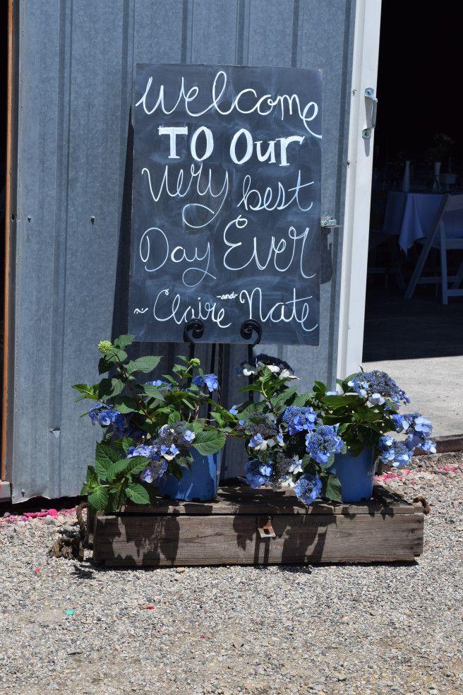 chalkboard sign vintage garden shed wedding meaningful moments mankato mn wwwmeaningfulmomentsevents