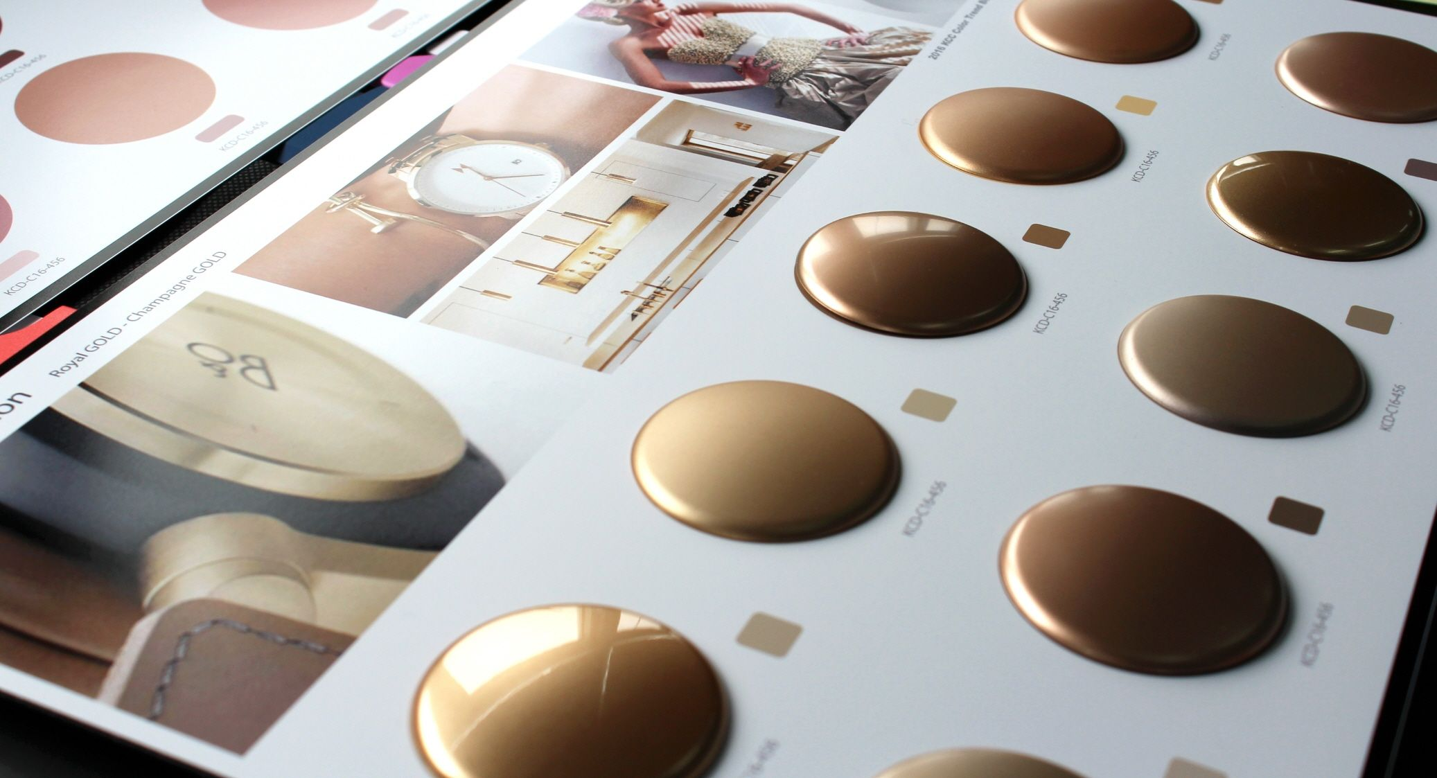 2016.17 Color Trend Book on Behance