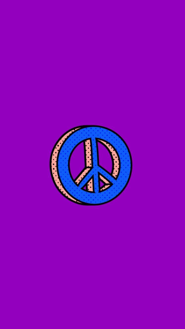 Cute Purple Peace Sign Snapchat #background #wallpaper ...