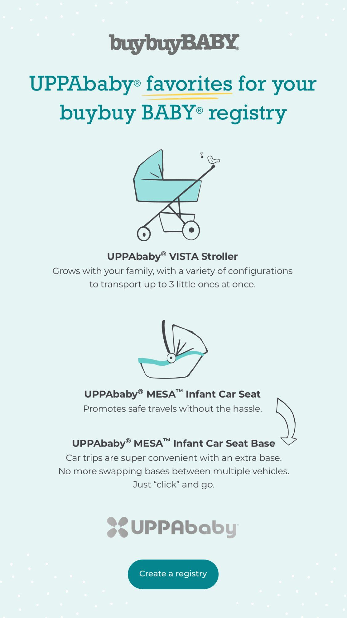 UPPAbaby favorites for your buybuy BABY registry. in 2020 ...