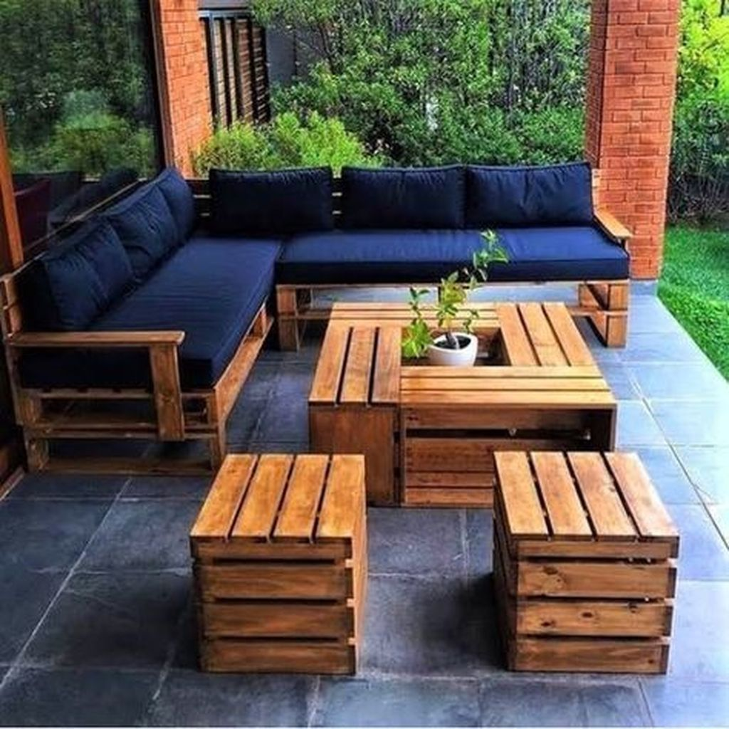 40 Spectacular Diy Projects Pallet Sofa Design Ideas For You Pallet Furniture Outdoor Outdoor Furniture Plans Diy Pallet Furniture
