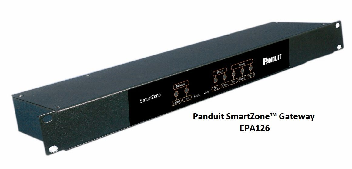 Panduit #SmartZone™ Intelligent Gateway EPA126 https://www.panduit ...