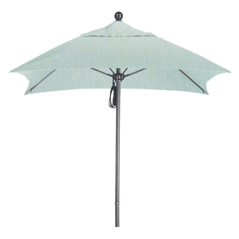 California Umbrella 6 Ft Aluminum Sunbrella Double Vent Patio Spa Alto604117 5413