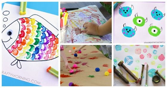 10 Awesome Art Projects For 3 4 Year Olds Bol Activities Easy