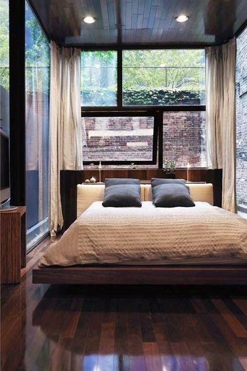 21 fotos de decoraci n de dormitorios peque os modernos for Metro cuadrado decoracion