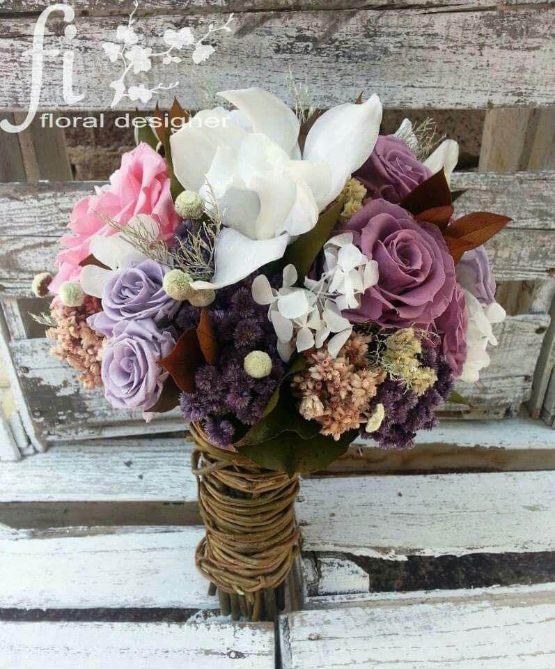 flores preservadas   bodas en 2019   ramos, estilo campestre y flores