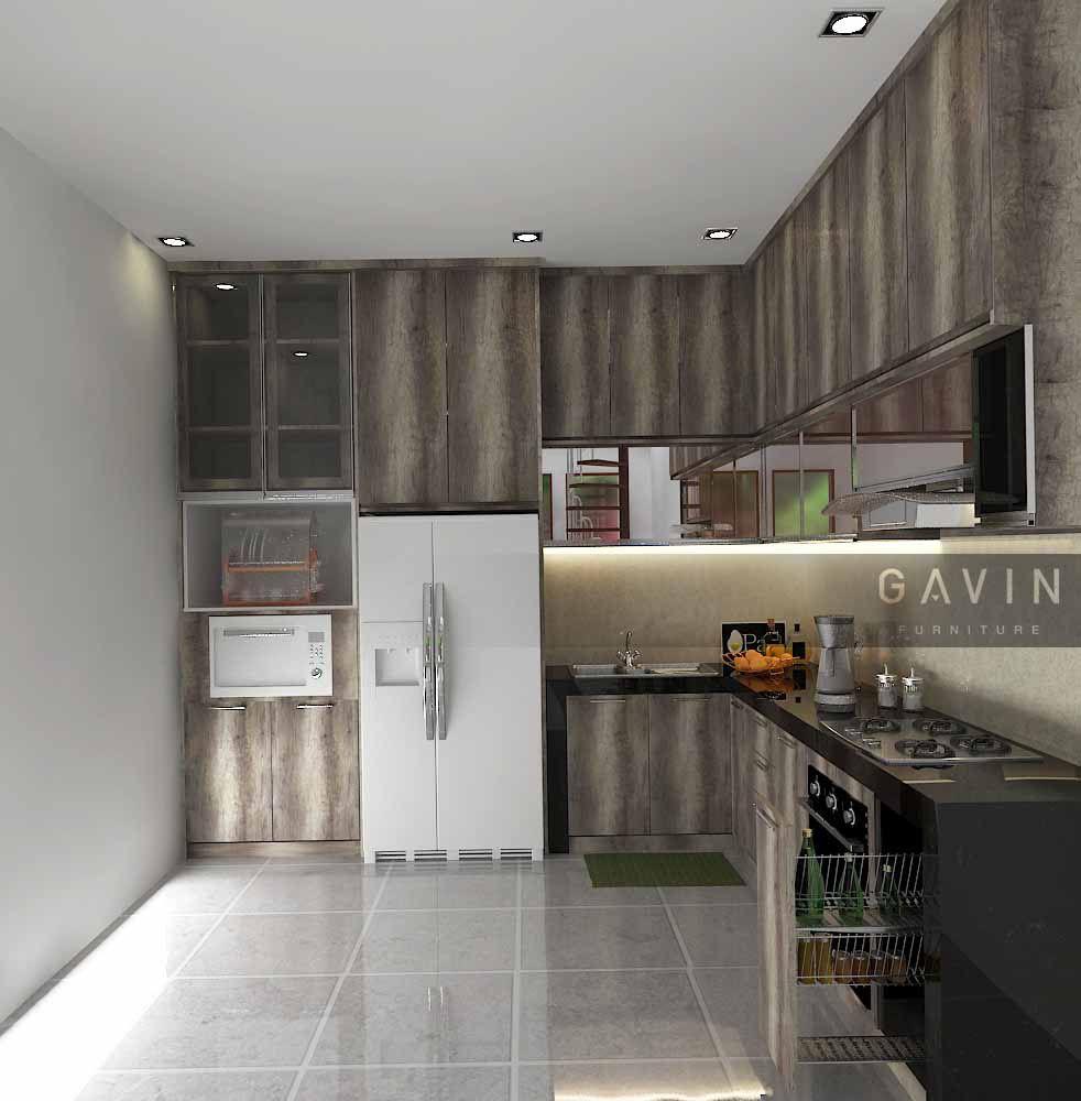 Aneka finishing beragam dan berkualitas gavin furniture contoh kitchen set bernuansa kayu contoh kitchen set di jati asih bekasi berikut ini merupakan