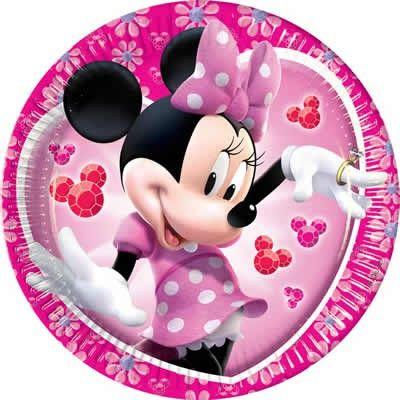 Partyteller 20cm Minnie Mouse