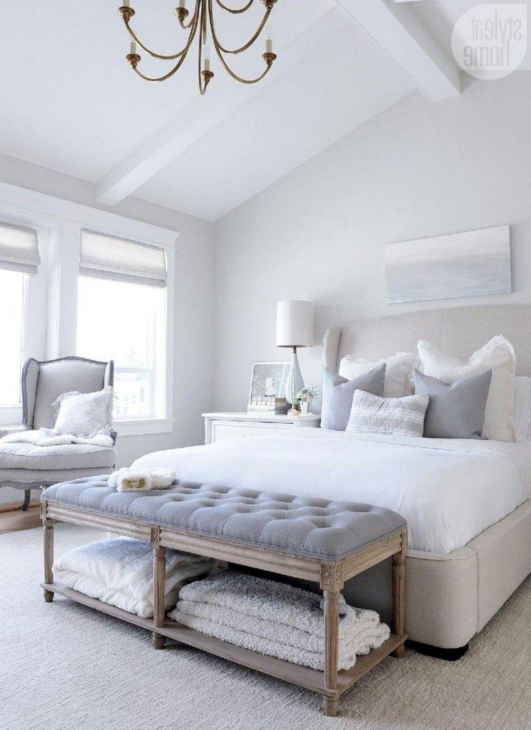 40 Cozy Beautiful Master Bedroom Decorating Ideas Page 15 Of 42 Master Bedroom Interior Design Gray Master Bedroom Master Bedroom Interior