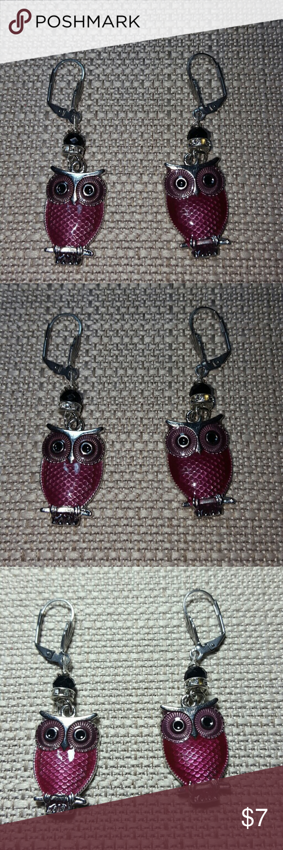 The wise owl dangle earrings | Wise owl, Dangles and Mauve