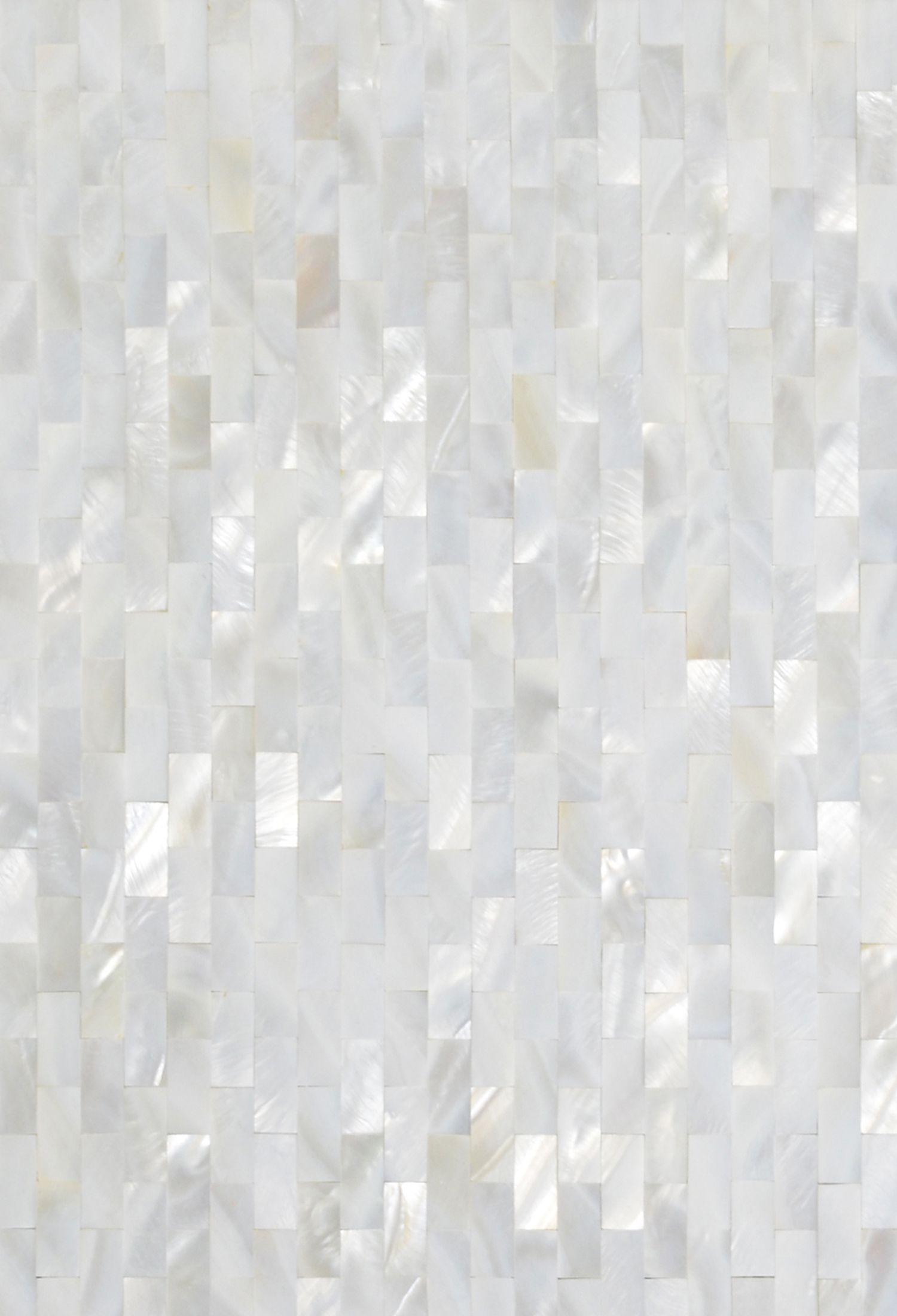 mother of pearl tiles backsplash