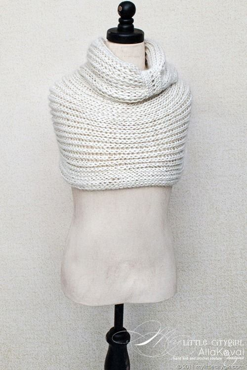 Free knitting pattern--cowl | Capas | Pinterest | Croché, Ganchillo ...