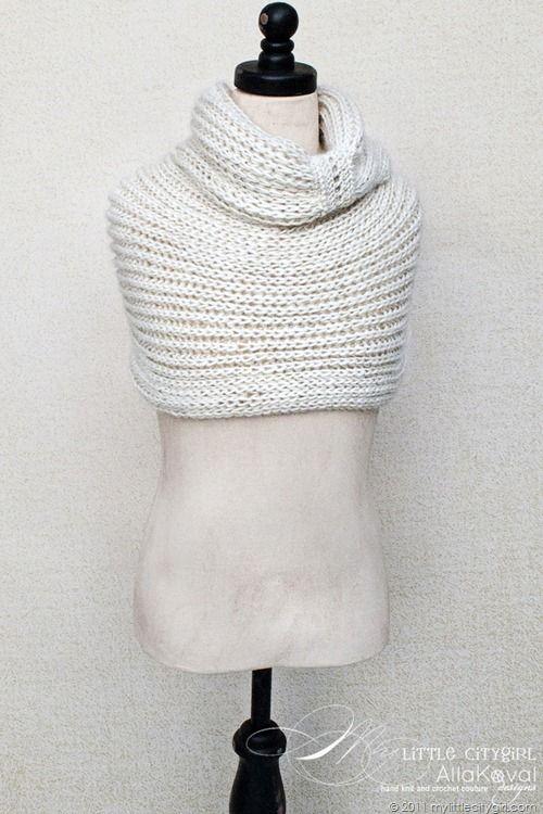 Free knitting pattern--cowl | Capas | Pinterest | Tejido, Crochet ...