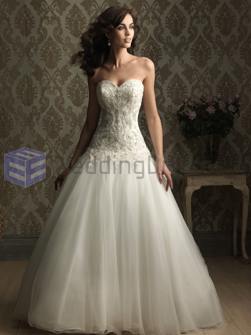 Wedding dress with sweetheart neckline net embellished ball wedding dress with sweetheart neckline net embellished ball gown strapless sweetheart neckline ombrellifo Choice Image