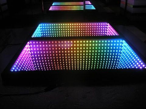 infinity mirror wall displays and infinity mirror tables grown folks led rooms spiegel led. Black Bedroom Furniture Sets. Home Design Ideas