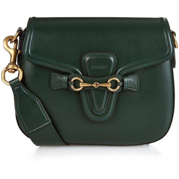 ed3df227731 Gucci Lady Web medium leather cross-body bag (€1.880) ❤ liked on ...