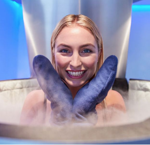 2-3 minutes: it's the time of a whole body cryotherapy