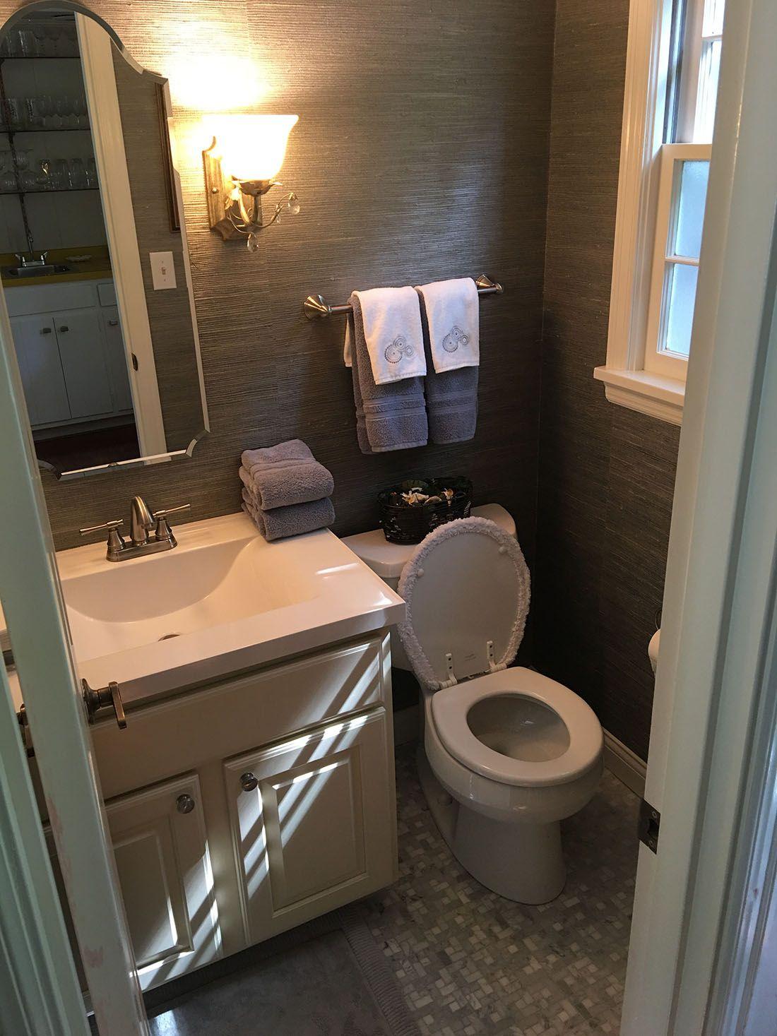 Powder Room Tile Flooring Powder Room Remodel Louisville - Bathroom remodel louisville ky