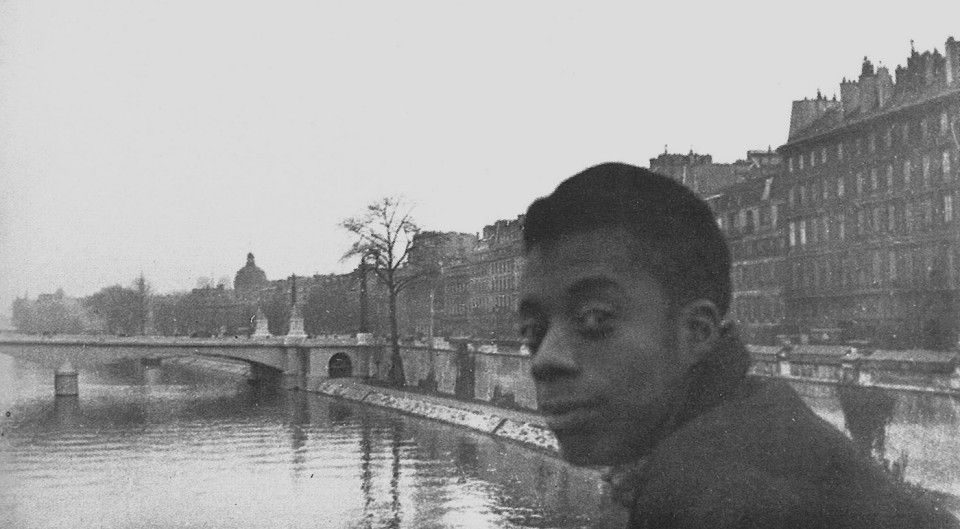 James Baldwin in Paris