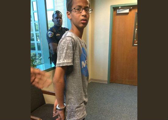 A 14-year-old brought a homemade clock to school, hoping to impress his teacher. But Ahmed Mohamed was arrested and h...