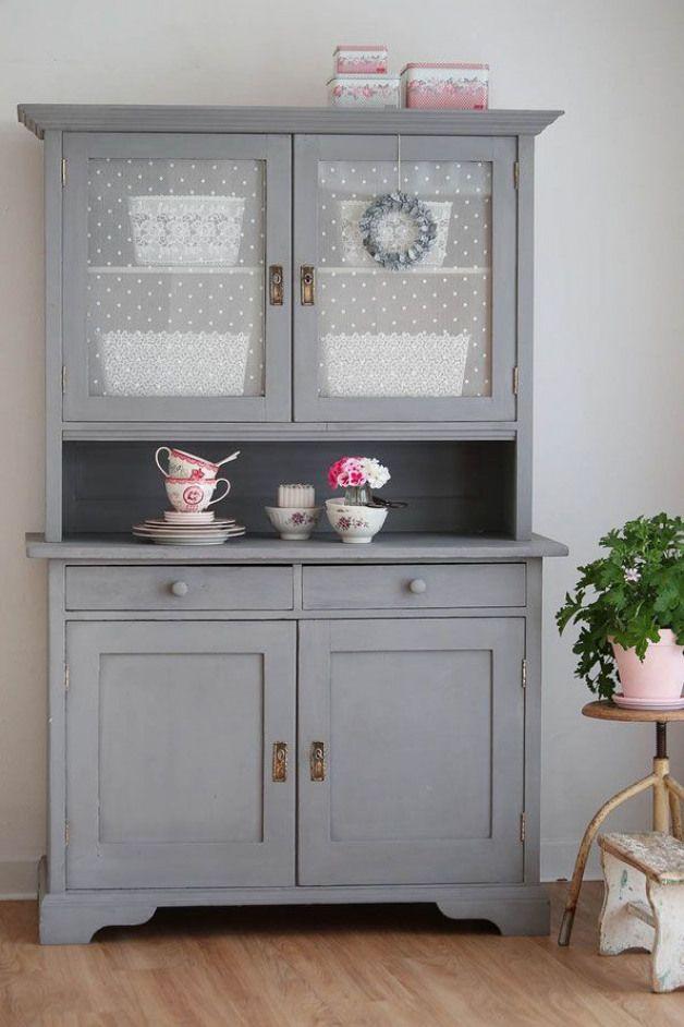 Antikes Buffet alter Küchenschrank kitchen dresser # ...