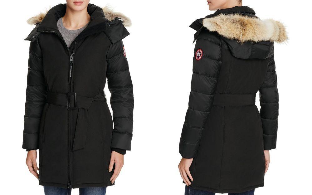 Canada Goose Arctic Luxe Rowan Down Fur-Trimmed Parka Excellent MSRP  1050   CanadaGoose  Parka 41423e377