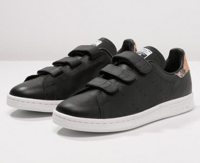 Adidas Originals STAN SMITH Baskets basses core blackwhite