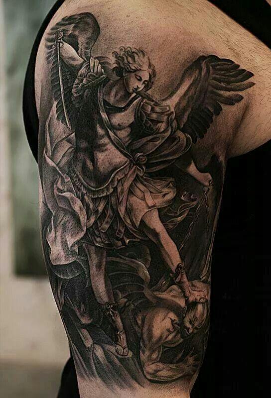 Tattoo Designs Tats Tatuaje Angel Tatuaje De San Miguel