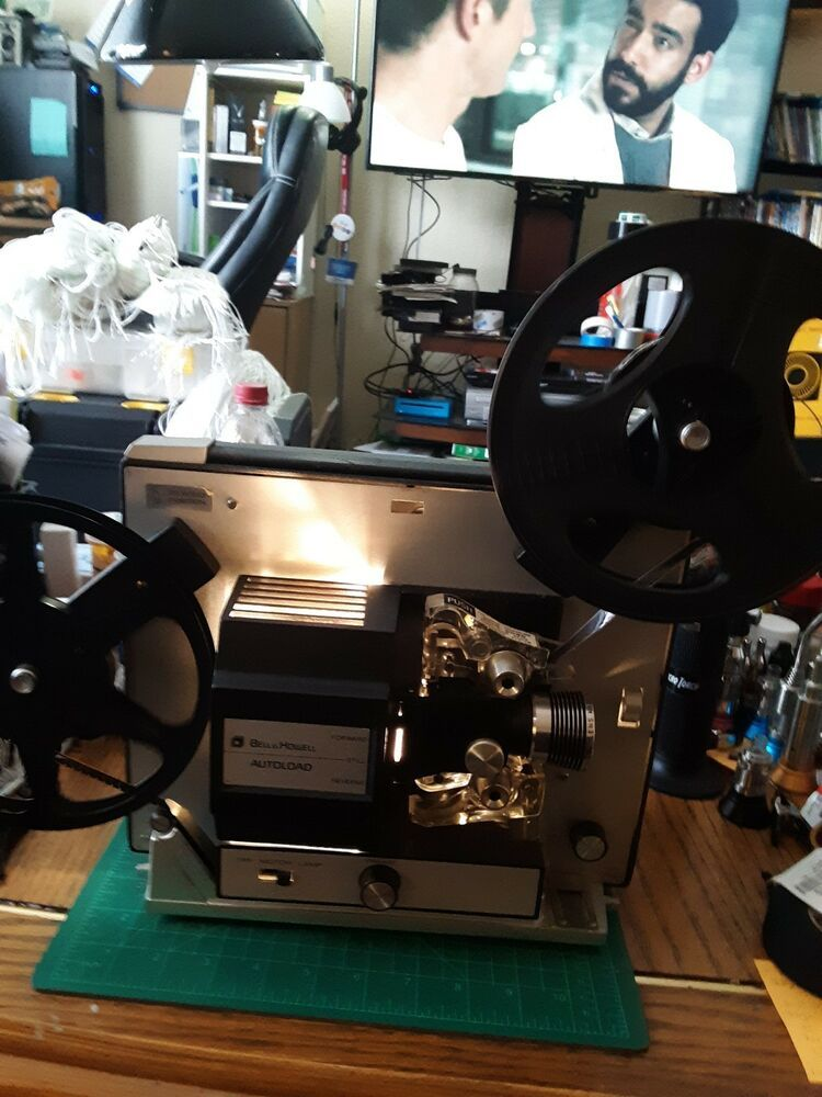 Bell Howell 461b Autoload 8mm Super 8 Vintage Movie Portable