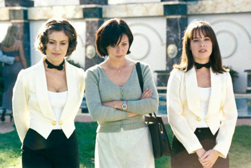 Phoebe, Prue, Piper - Wedding from Hell | Shannen Doherty ...