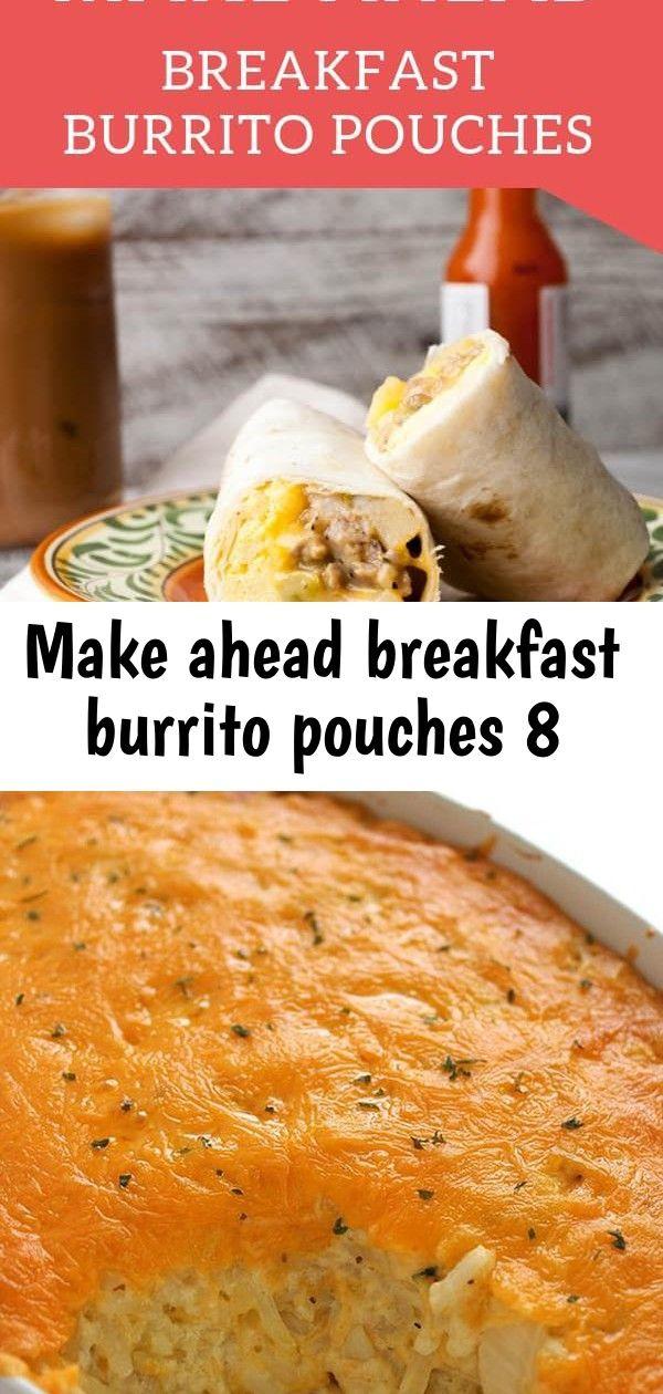 Make ahead breakfast burrito pouches 8
