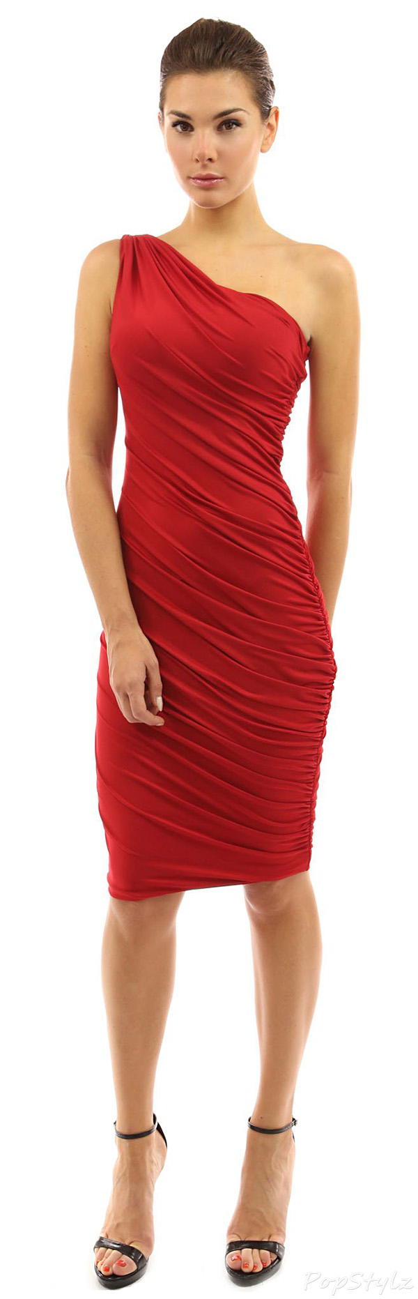 PattyBoutik Women\'s One Shoulder Cocktail Dress | Haircuts ...