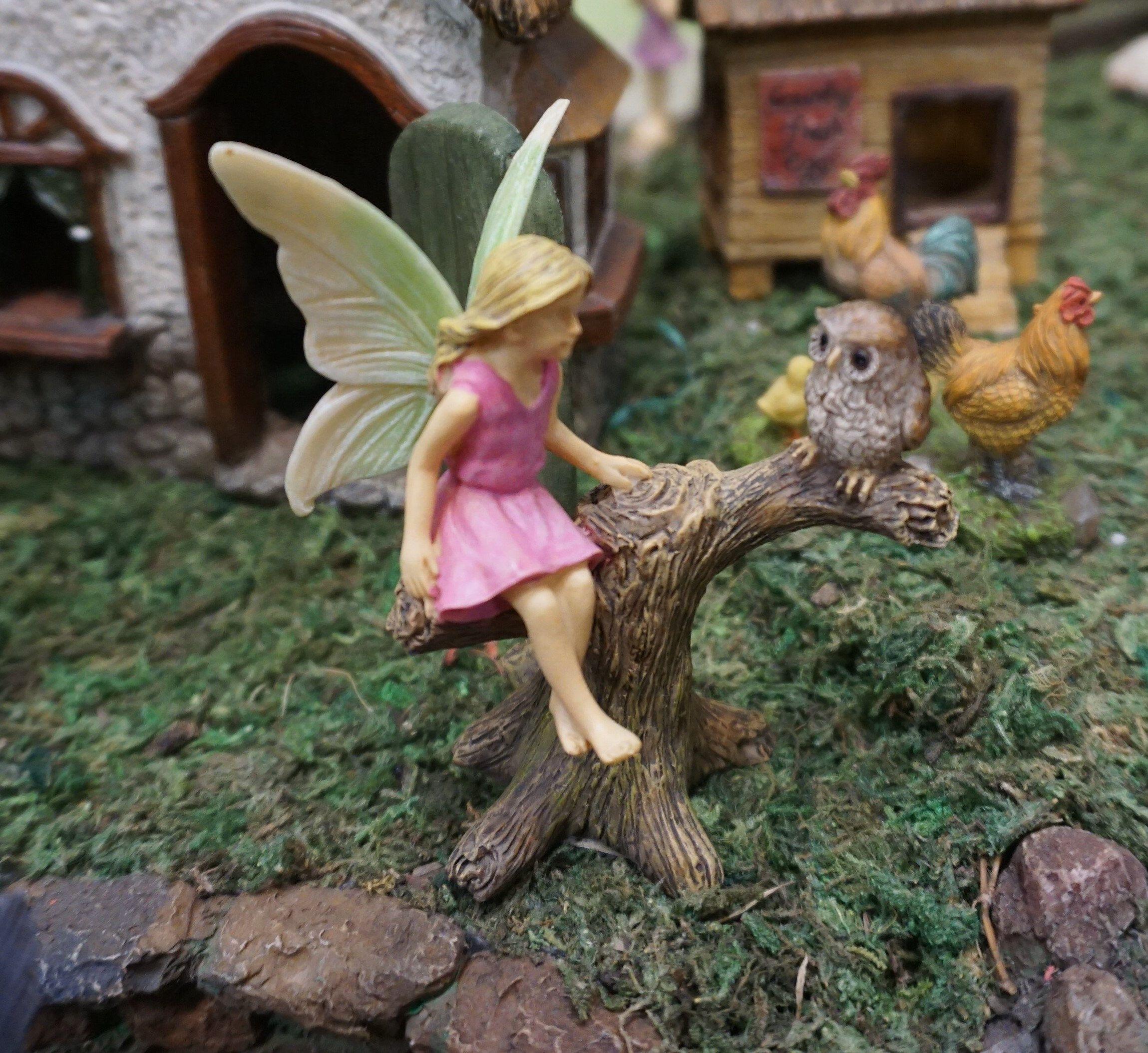 Robin Accessories Miniature Dollhouse FAIRY GARDEN