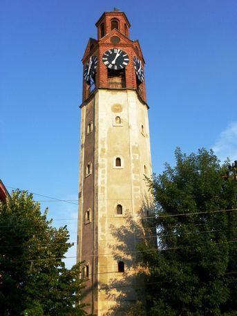 Kulla e Sahatit. La Torre dell'Orologio, a Prishtina, Kosovo | Urban, Rinascimento