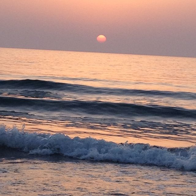 The Ocean Waves Always Calm The Nerves And A Beautiful