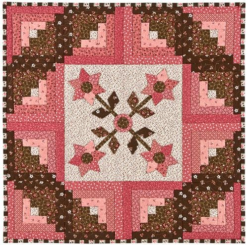 Darling little quilt by Bloom Creek Quilts