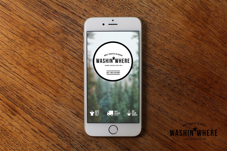 Washin where laundry service baguio city 2016 rebrand brand washin where laundry service baguio city 2016 rebrand brand design identity solutioingenieria Image collections