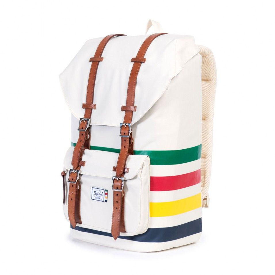 Herschel Supply Co. Little America HBC offset stripe backpack - Backpacks -  Bags   Travel - Gifts   Home 46707d16ebd11